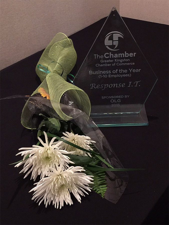small business of the year award chamber of commerce