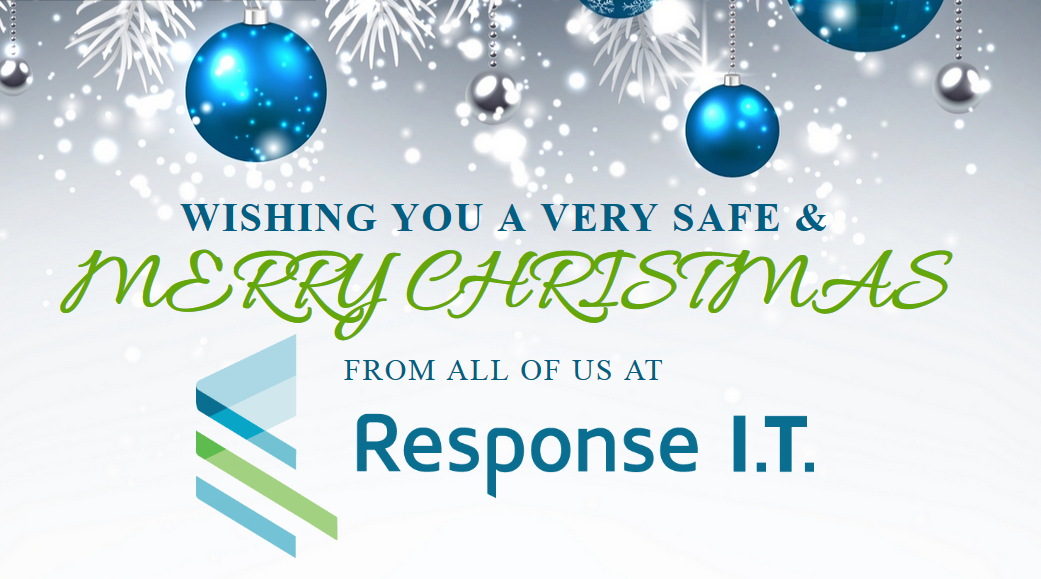 Merry Christmas & Happy New Year from Response I.T.