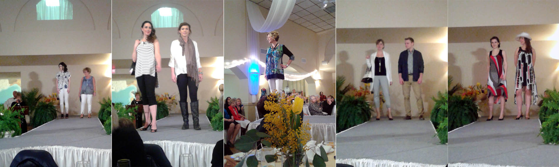 Italian club womens day fashion show