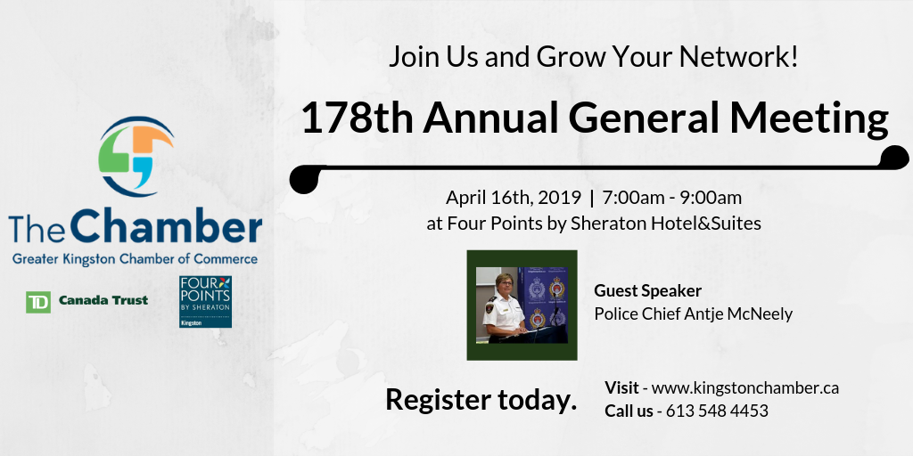 178th Annual General Meeting | kingston Chamber of Commerce